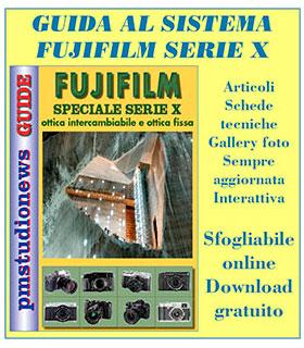 guida fujifilm sistema x colonna sx
