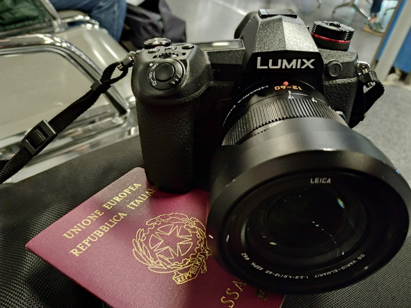 reflex mirrorless panasonic lumix g9 prova test