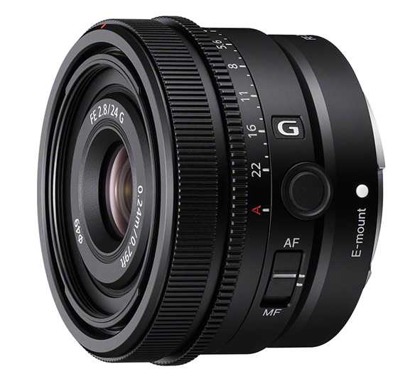 Il nuovo Sony FE 24mm F2.8 G per mirrorless full frame G